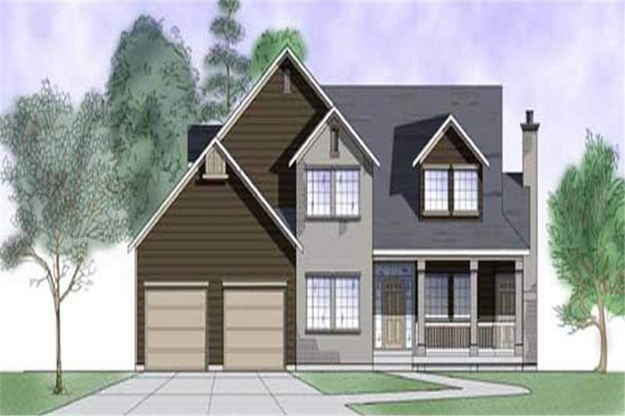 Main image for house plan # 11186