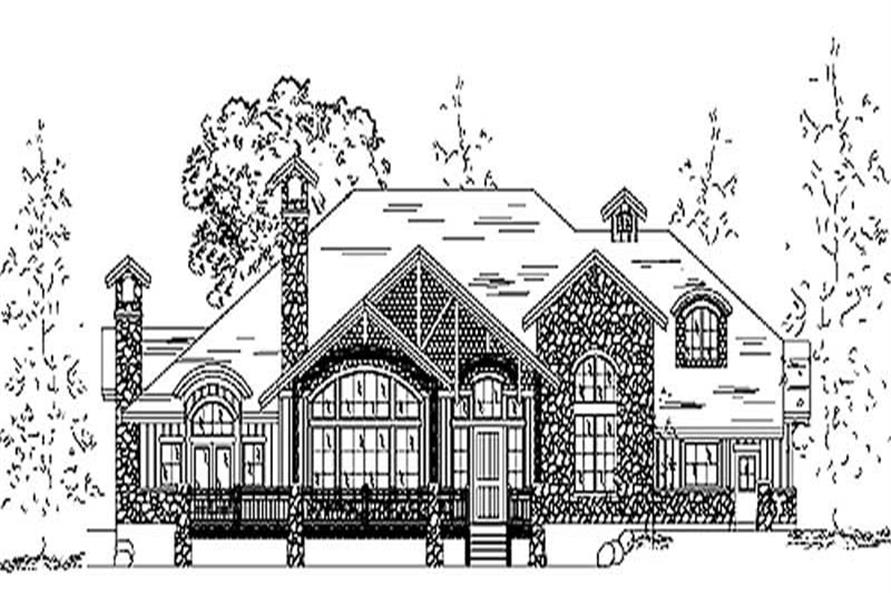 Main image for house plan # 11144