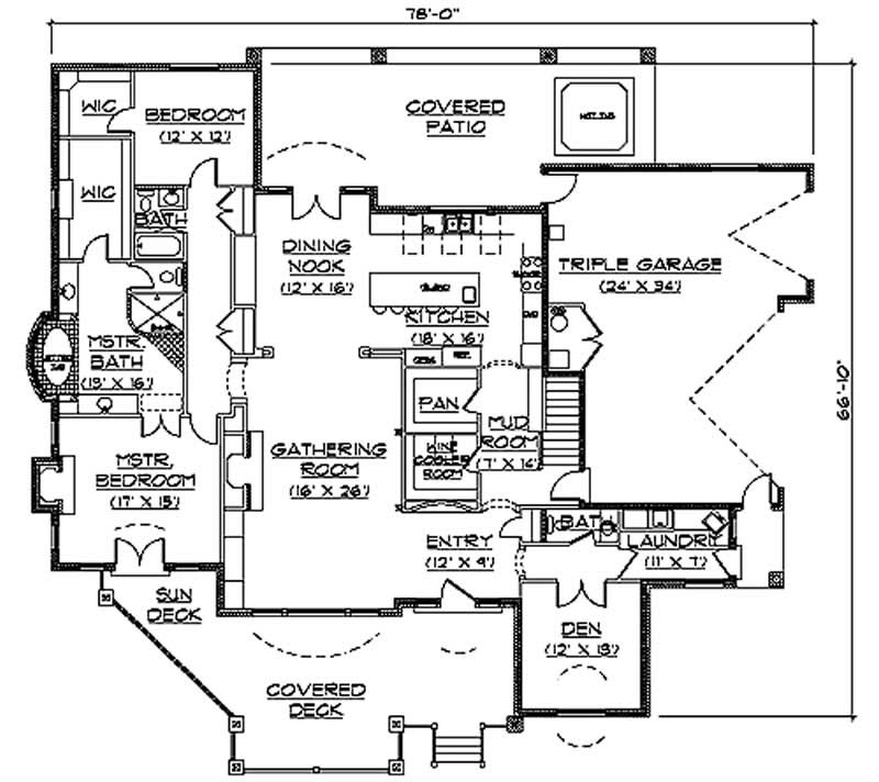 Traditional European House Plans Home Design Vh Ts3622