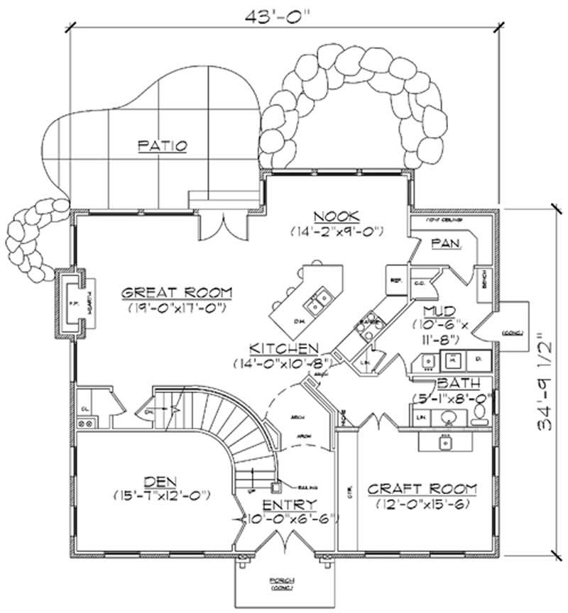 Southern Colonial House Plans Home Design Vh Ts2943 11179