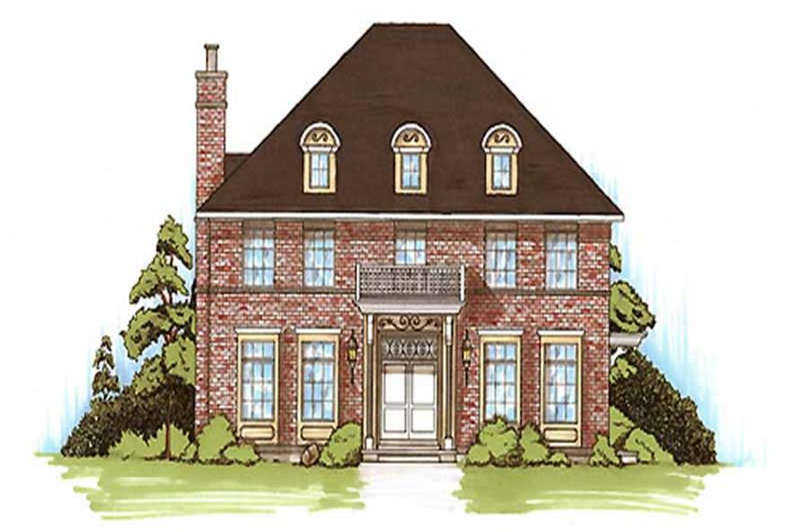 Main image for house plan # 11179