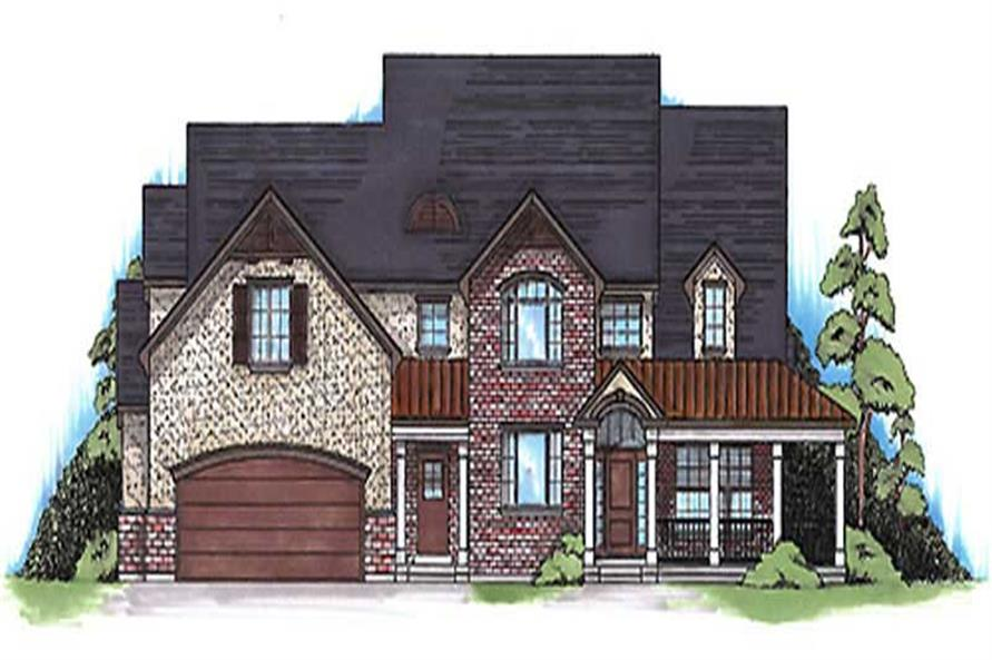 Main image for house plan # 11174