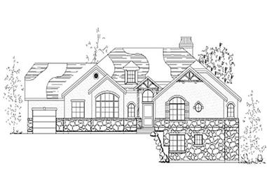 Main image for house plan # 8135