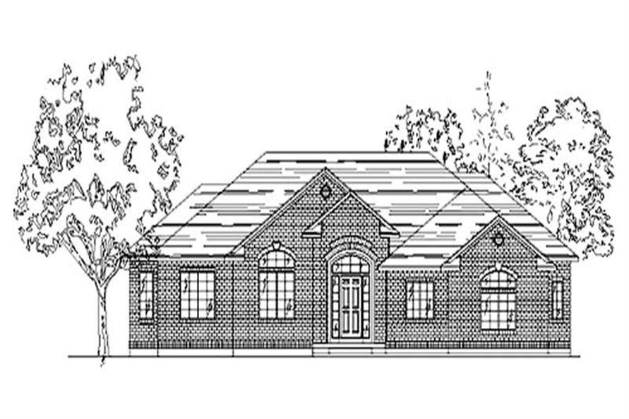 Main image for house plan # 8090