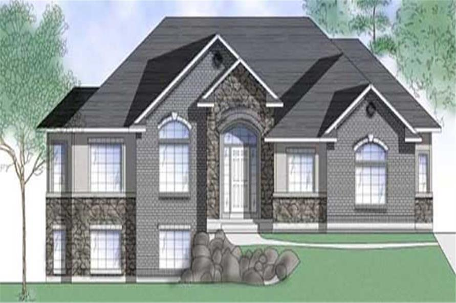 Main image for house plan # 8086