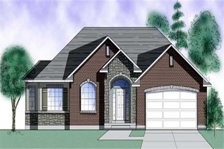 Main image for house plan # 8082