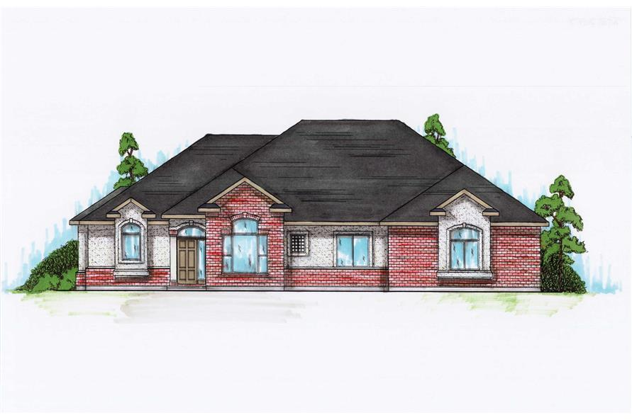 Main image for house plan # 8126