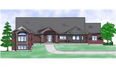 Main image for house plan # 8107