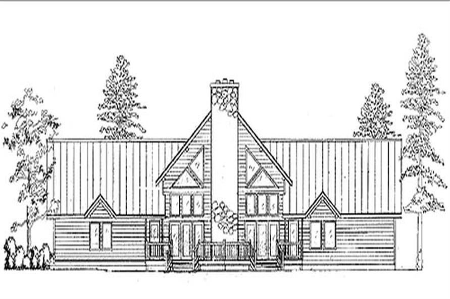 Log Home Design Main Image.