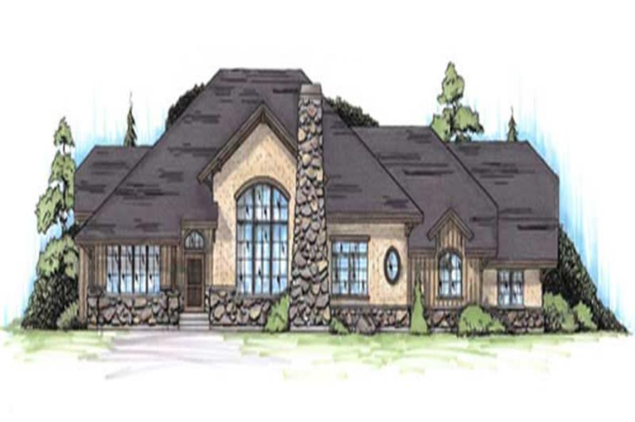 Main image for house plan # 8131
