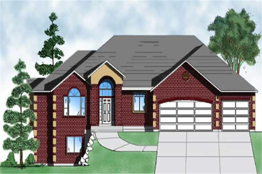 Main image for house plan # 8113