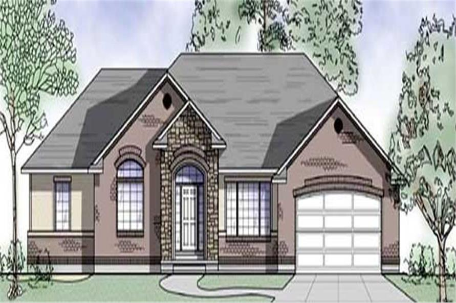 Main image for house plan # 8098