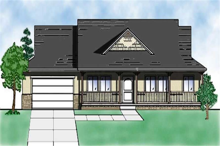 Main image for house plan # 8130