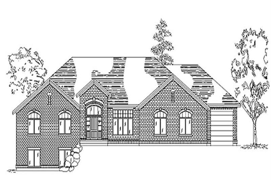 Main image for house plan # 8149