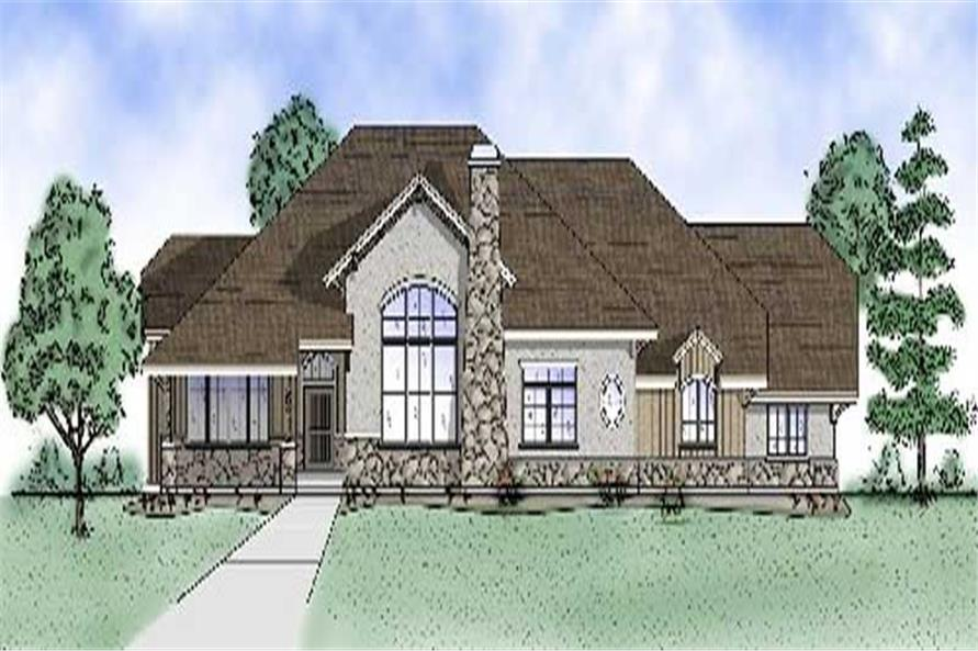 Main image for house plan # 8145