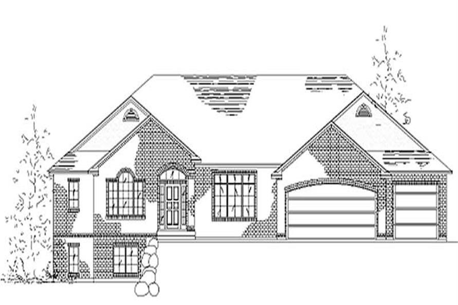 2-Bedroom, 2244 Sq Ft European Home Plan - 135-1315 - Main Exterior