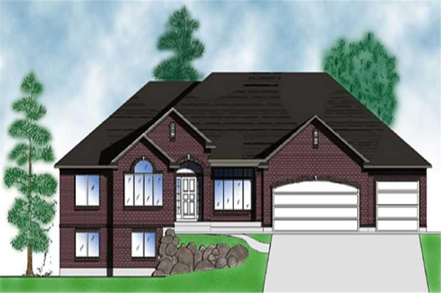 Main image for house plan # 8117
