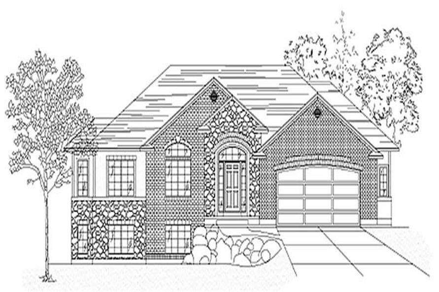 Main image for house plan # 8092