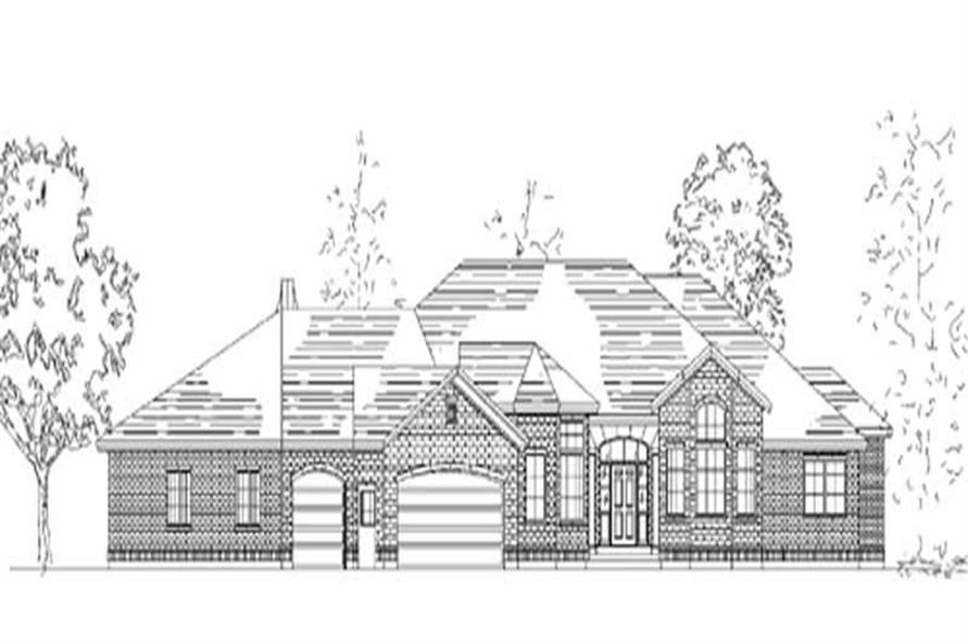Main image for house plan # 8151