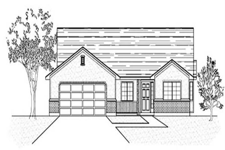 Main image for house plan # 8079