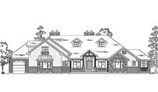 Main image for house plan # 11031