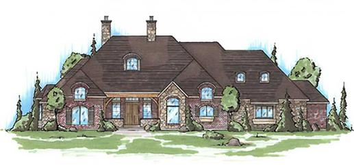 Main image for house plan # 8157