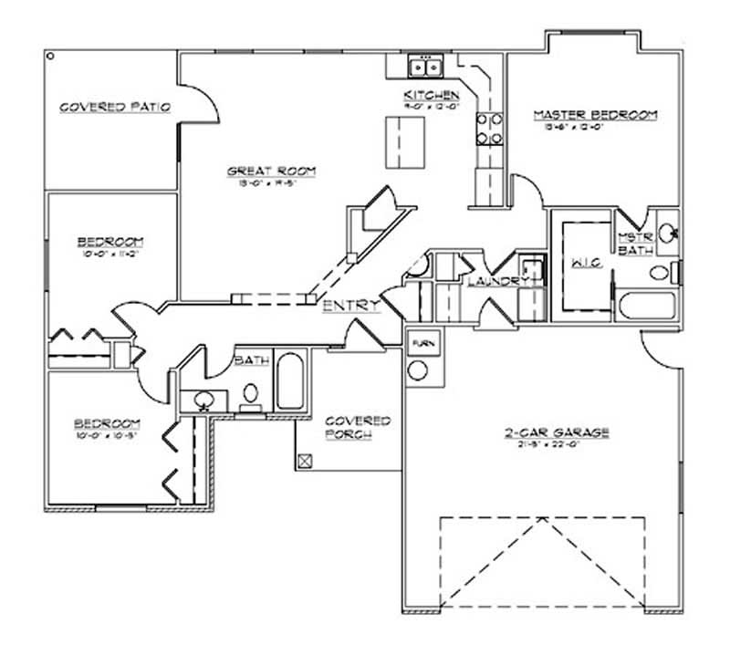 Small ranch french european house plans home design for French european house plans