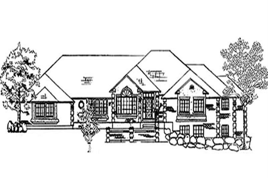 Main image for house plan # 8172