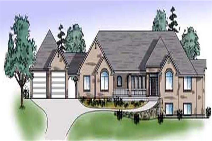 Main image for house plan # 8159