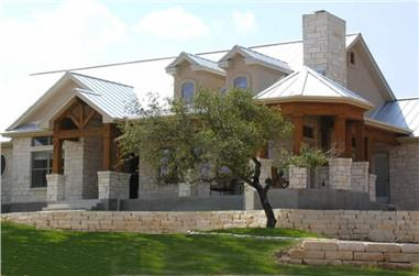 3-4-Bedroom, 2184 Sq Ft Ranch House Plan - 136-1000 - Front Exterior