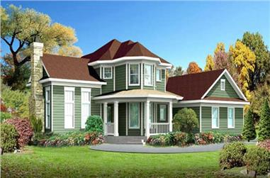 Main image for house plan # 7019