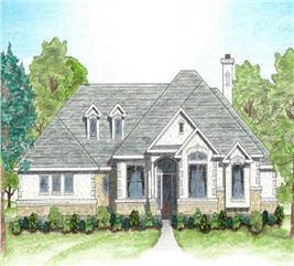 House Plan #136-1002