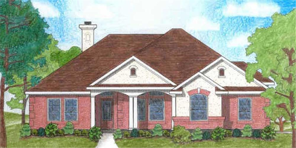 Main image for house plan # 6985