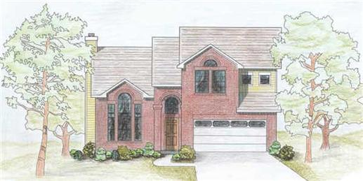 Main image for house plan # 6986