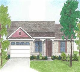 House Plan #136-1011