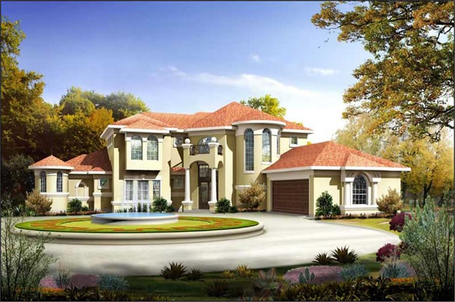 mediterreanean house plans - victorian home design # 7026