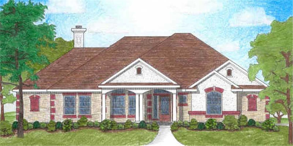 Main image for house plan # 7011