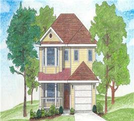 House Plan #136-1016