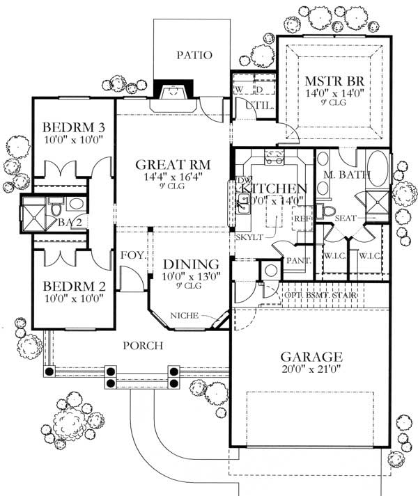 Floor Plan With Basement