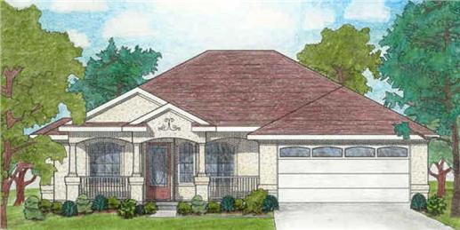 Main image for house plan # 6964