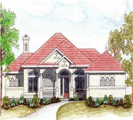 House Plan #136-1018