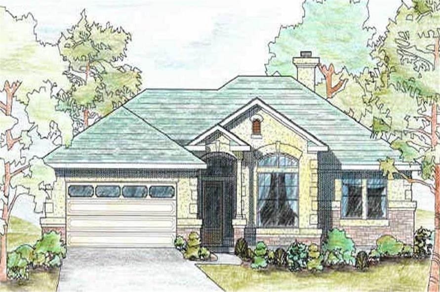 Main image for house plan # 6970