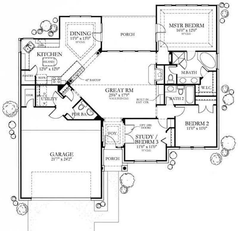 Traditional Arts And Crafts House Plans Home Design 6970