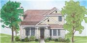 View house Plan#136-1020
