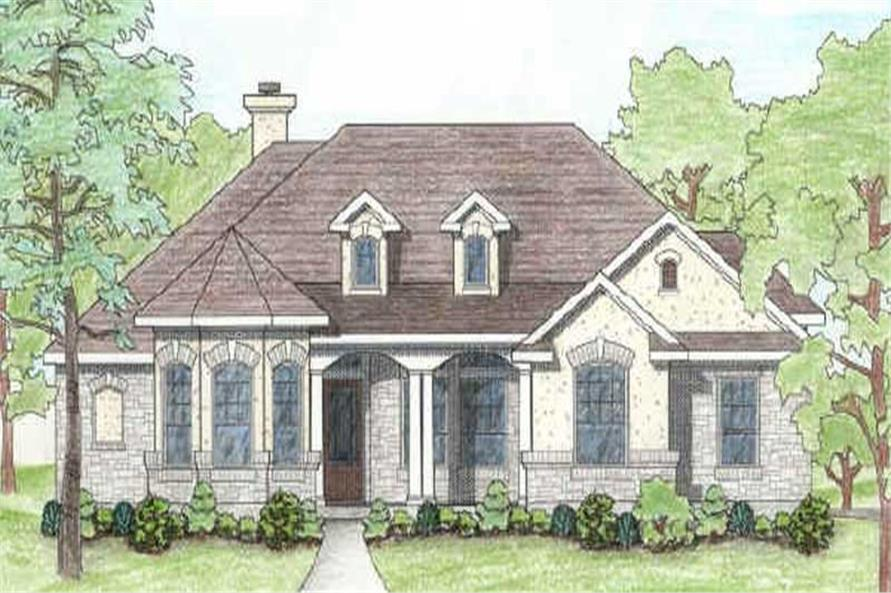 Main image for house plan # 6989