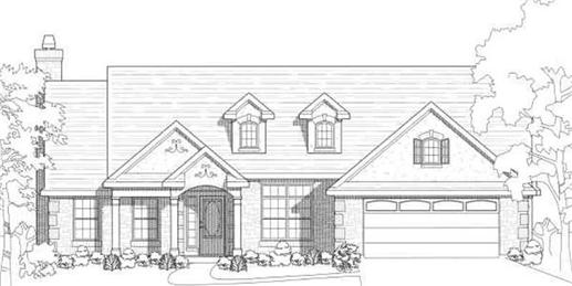 Main image for house plan # 6992
