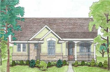 Main image for house plan #136-1028