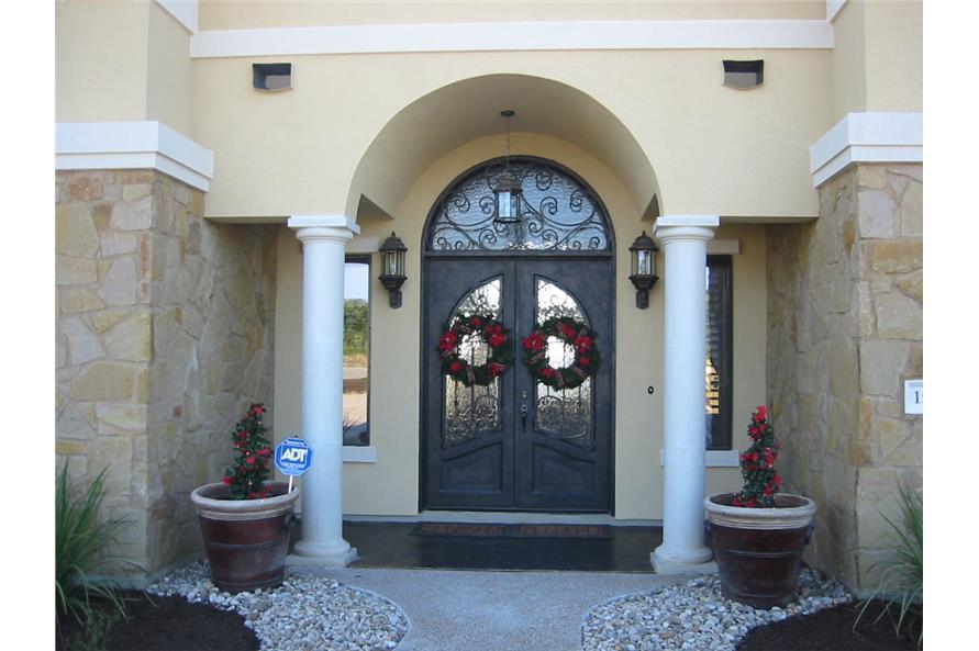 Front Door of this 3-Bedroom,2504 Sq Ft Plan -2504