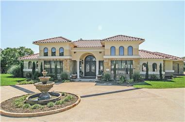 Spanish Style House Plans | The Plan Collection