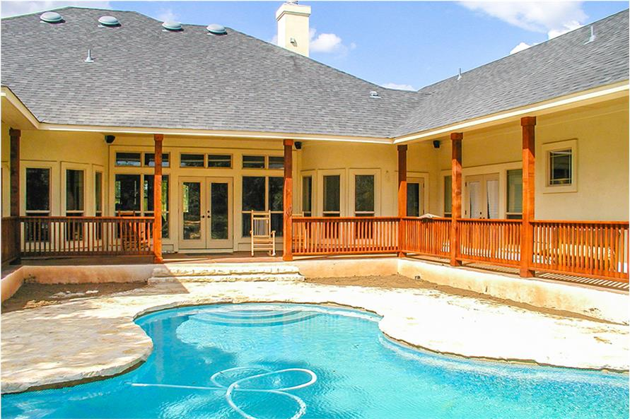 Pool of this 4-Bedroom,2690 Sq Ft Plan -2690